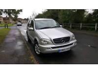 Mercedes ml270 diesel auto long mot really good condition