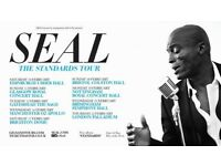 Pair of tickets for Seal, Usher Hall, Edinburgh, 10 Feb 2018 - Face Value