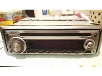 KENWOOD KDC-W410A CAR STEREO CD RADIO PLAYER HEADUINT WMA/MP3 45 X 4 WATTS