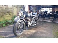 Vintage Triumph CSD 550 1929 (very rare)