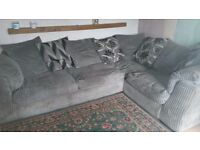 Large corner corded Sofa / Settee