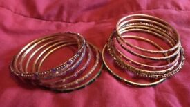 Bangle set of 12, £2.50