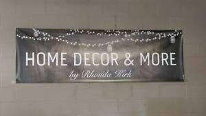 HOME DECOR & MORE BY RHONDA KIRK GRAND OPENING