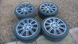 "Genuine bmw 19"" m3 wheels"