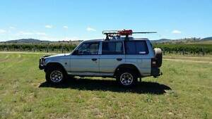 1996 Mitsubishi Pajero with all camping gear Tenterfield Tenterfield Area Preview