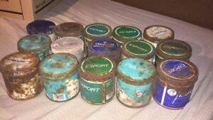 15 cannes de tabac antique