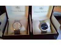 Gianni Sabatini watches. Brand new in original presentation boxes. Christmas gifts