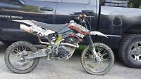 Look to trade 150cc Pithog an 500indy xc puddle jumper