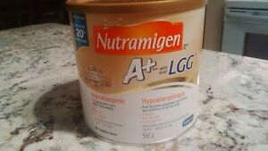 3 x Nutramigen Large 561 g cans of baby formula