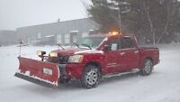 Professional Snow Plowing Service