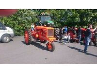 Vintage tractor allis chammers