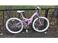 Quality Ladies Suspension Hybrid Bike Bicycle. Fully Serviced, Ready To Ride & Guaranteed. 18 Speed