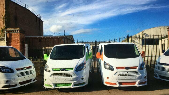 Ford transit custom Rs bumpers for sale