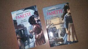 Deux livres Fanette de Suzanne Aubry Tome 1 et Tome 6