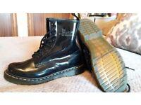 Patent dr marten boots