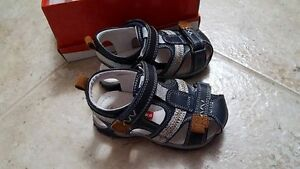 Toddler boy size 7-8 sandals, brand new with box