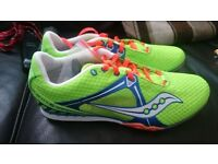 Selling a New pair of Saucony Velocity 5 Running Spikes 8.5