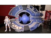 Star wars ship and clone from Star wars 3