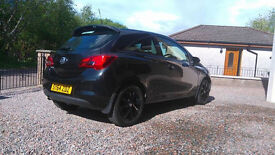 Vauxhall Corsa 1.4 SRi in Black. One Lady Owner