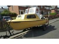 40hp fishing boat