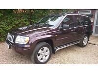 JEEP GRAND CHEROKEE 2.7 CRD LIMITED AUTO