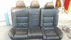 Rear Seats Out Of A Mk4 VW