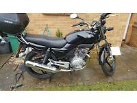 Yamaha YBR 125 - 2006, Low mileage