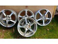 """alloy wheels 17 """" 4x100"""