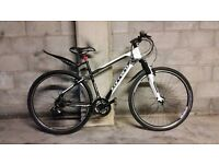 FULLY SERVICED UNISEX CARRERA CROSSFIRE 1 HYBRID BIKE