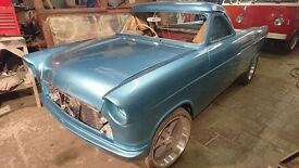1960 FORD CONSUL 375 LOW LINE, PICK UP, CUSTOM, HOT ROD, PROJECT, 90% FINISHED! swaps px sell