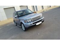 Land Rover Range Rover LHD 4.4 Petrol * Low Milage * Fully Loaded* ready Export* Left hand drive*