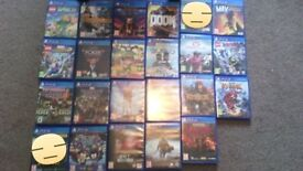 Games bundle 18 games FOR FAST SALE 18 GAMES FOR £100 IF GONE TODAY