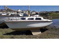 Sunstar 18 bilge keel sIling yacht