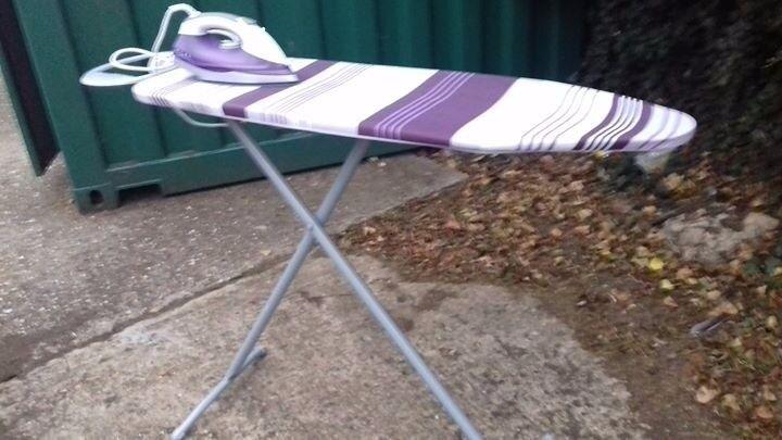 Purple stripped iron & Board