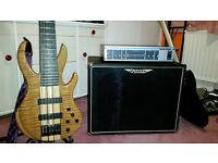 Hartke ha2500 250w amp + Ashdown Toneman 1x15 speaker.