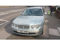 Rover 75 Diesel Saloon in Silver - VERY LOW MILEAGE
