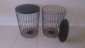 2x Metal side tables. Fletcher Newcastle Area Preview