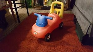 Little Tikes Blue, Red, Yellow Push &  Ride Racer Age: 9 months