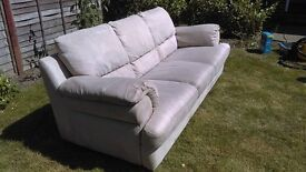 LARGE 3 SEATER SOFA, GOOD USED CONDITION, VERY SOFT AND COMFORTABLE