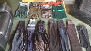 19 Pieces Maternity/Postpartum Clothes (Size Small) for $20