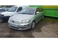Toyota avensis d4d 2.0 2.2 BREAKING all parts available