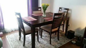 Dining set (5 pieces), Dining table and 4 chairs