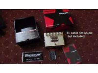 Blackstar DistX TUBE distortion pedal played twice in guarantee