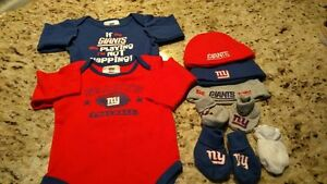 NY Giants baby gear 3-6months EUC