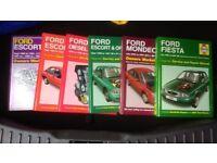 Ford Haynes manuals.