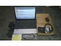 delphi autocom full set up laptop leads software
