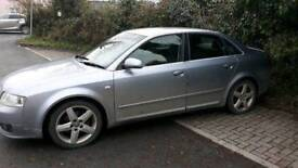 Audi a4 Quattro with full service history and will have 12months tomorrow