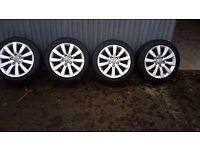 Alloy wheels 225-50-ZR17