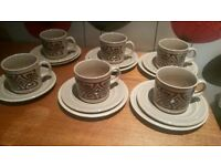 Tams vintage/retro tams tea sets