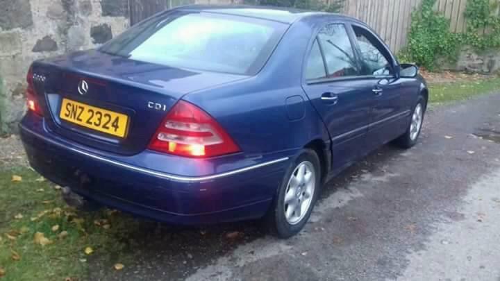 Spares or Repair - Mercedes C220 CDi - 2.2 TD - MOT January 18 - £350 - 07984 382293